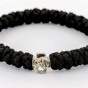 Black Prayer Rope Bracelet