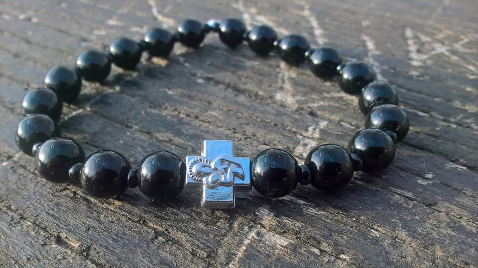 Handmade christian prayer beads bracelet