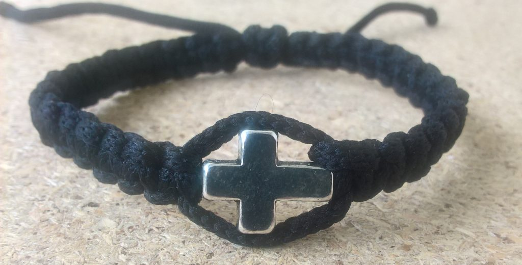 Handmade christian prayer rope bracelet