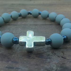 Christian prayer beads bracelet