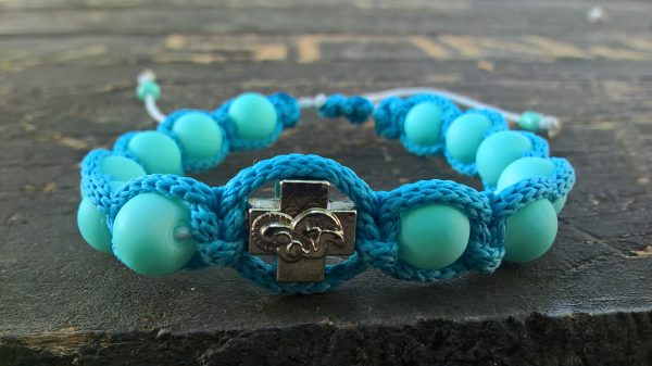 Handmade christian turquoise prayer ropes, beads bracelet